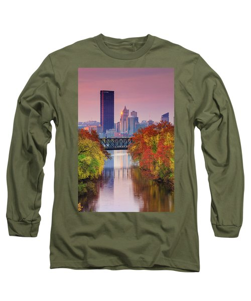 All Pittsburgh Pink  Long Sleeve T-Shirt