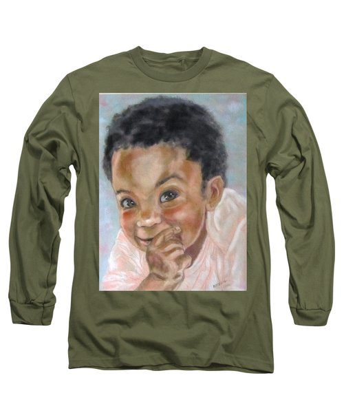 All Smiles Long Sleeve T-Shirt by Barbara O'Toole