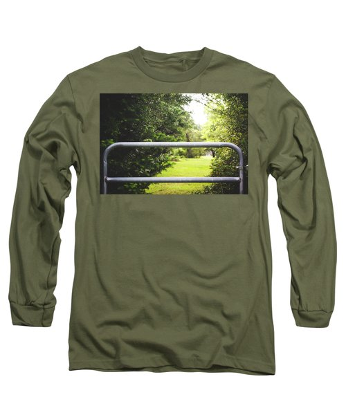 Long Sleeve T-Shirt featuring the photograph All Things Green by Shelby Young