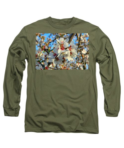 Almond Blossoms Long Sleeve T-Shirt