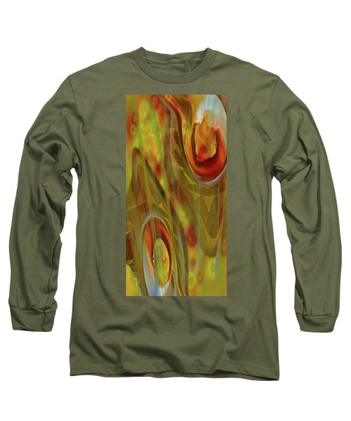 Almost  Resting II Long Sleeve T-Shirt by Steve Sperry