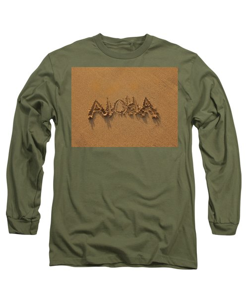 Aloha In The Sand Long Sleeve T-Shirt