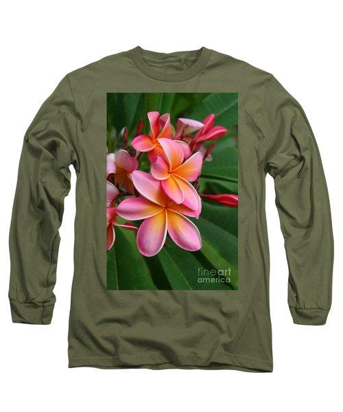 Aloha Lei Pua Melia Keanae Long Sleeve T-Shirt