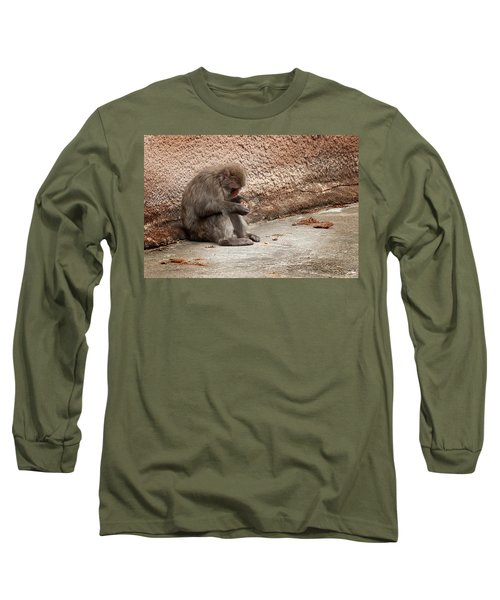 Alone With My Bread Crumbs Long Sleeve T-Shirt