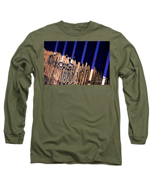Along Euclid, Cleveland Long Sleeve T-Shirt