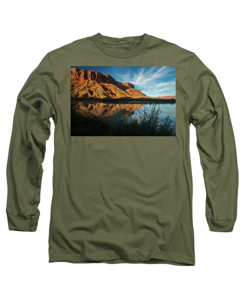 Long Sleeve T-Shirt featuring the photograph Along The Colorado by Gary Lengyel