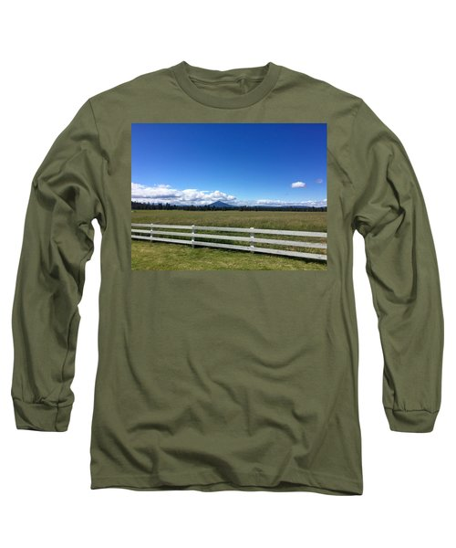 Along The Fence Line Long Sleeve T-Shirt