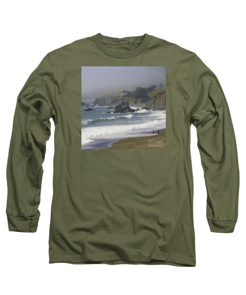 Along The Pacific #2 Long Sleeve T-Shirt