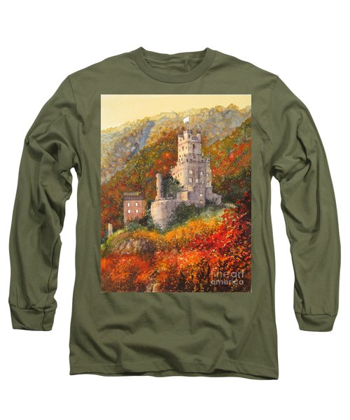 Along The Rhine I Long Sleeve T-Shirt