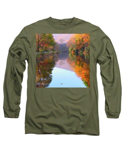 Along These Autumn Days Long Sleeve T-Shirt
