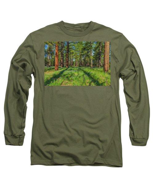Alpine Flowers Long Sleeve T-Shirt