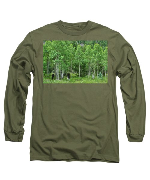 Long Sleeve T-Shirt featuring the photograph Alvarado Summer by Marie Leslie