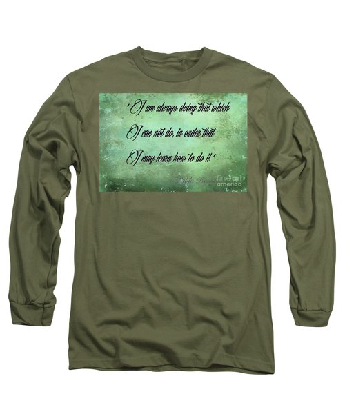 Long Sleeve T-Shirt featuring the photograph Always by Jim  Hatch