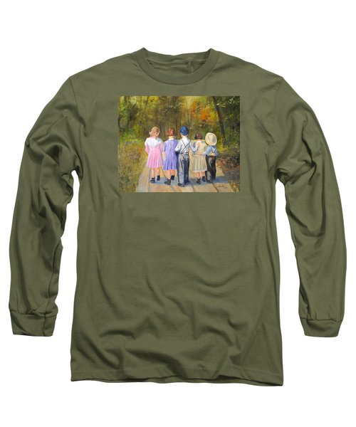 Always Together Long Sleeve T-Shirt by Alan Lakin