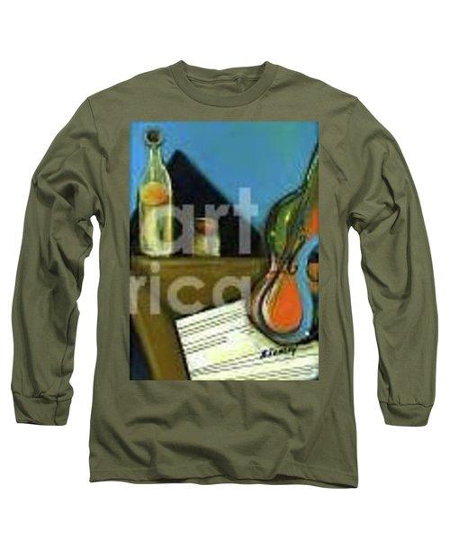 Amandas Violin Long Sleeve T-Shirt