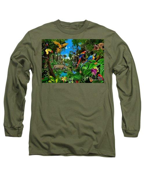 Amazon Sunrise Long Sleeve T-Shirt