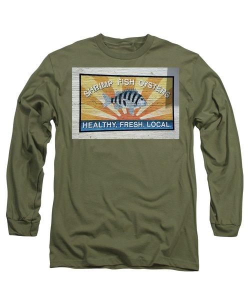 Amen Long Sleeve T-Shirt by Ed Waldrop