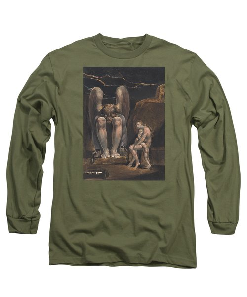 America. A Prophecy, Plate 1, Frontispiece Long Sleeve T-Shirt