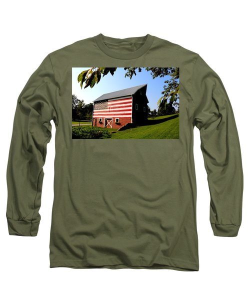 Americana 1 Desoto Kansas Long Sleeve T-Shirt