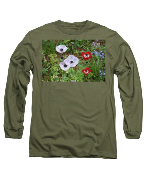 American Flowers Long Sleeve T-Shirt