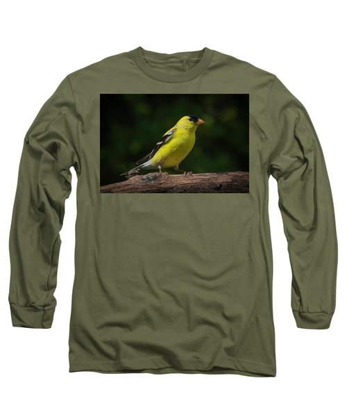 American Goldfinch Male Long Sleeve T-Shirt by Kenneth Cole