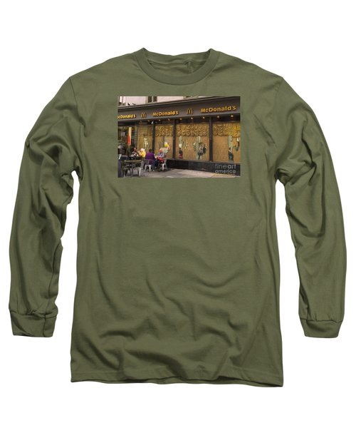 American Italy Long Sleeve T-Shirt