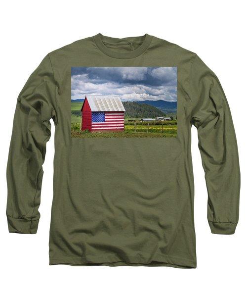 American Landscape Long Sleeve T-Shirt