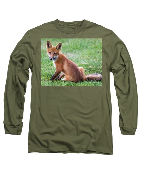 American Red Fox  Long Sleeve T-Shirt