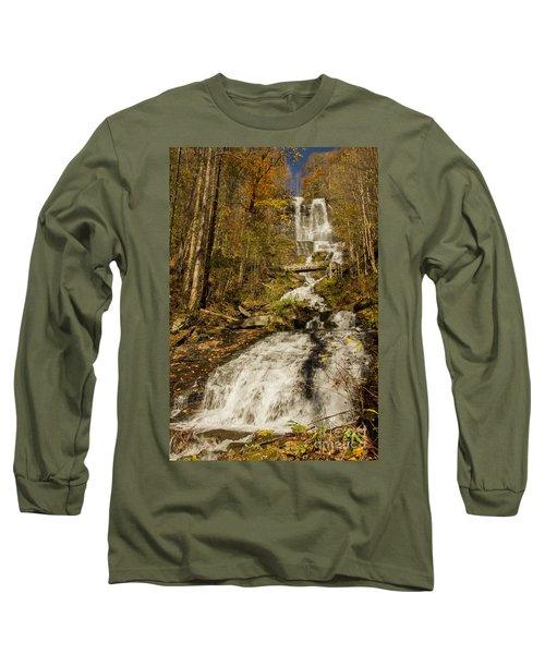 Amicola Falls Gushing Long Sleeve T-Shirt