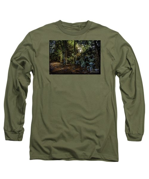 Among The Rocks Long Sleeve T-Shirt by Ken Frischkorn
