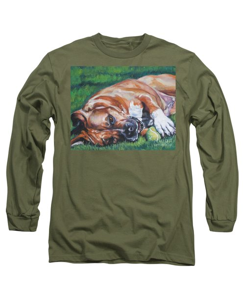 Amstaff With Ball Long Sleeve T-Shirt