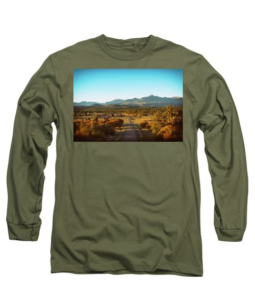 An Autumn Evening In Pagosa Meadows Long Sleeve T-Shirt