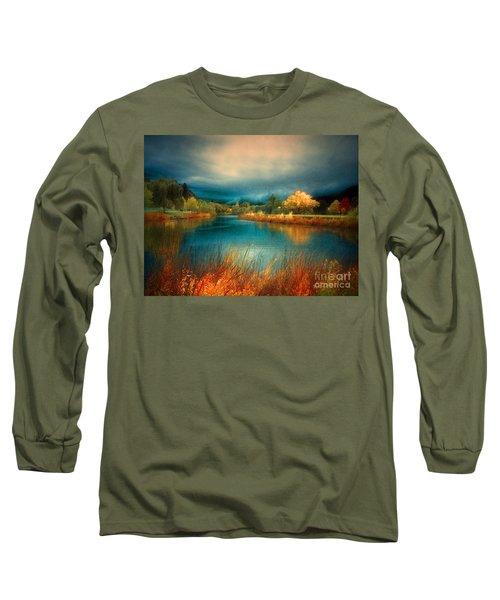 An Autumn Storm Long Sleeve T-Shirt