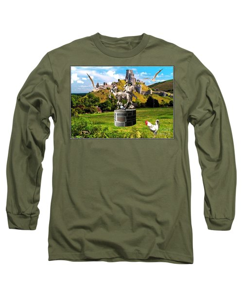 An Echo Of Past Time Long Sleeve T-Shirt