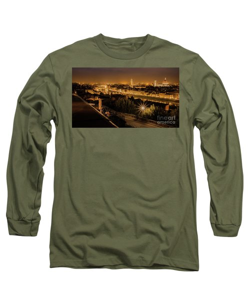 An Evening In Florence Long Sleeve T-Shirt