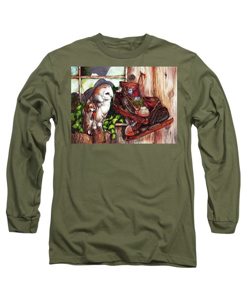 An Unwelcome Visitor Long Sleeve T-Shirt