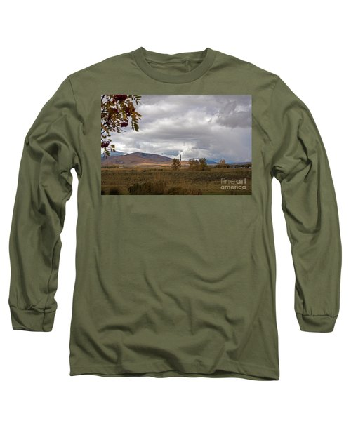 Anaconda Smelter Stack Long Sleeve T-Shirt by Cindy Murphy - NightVisions