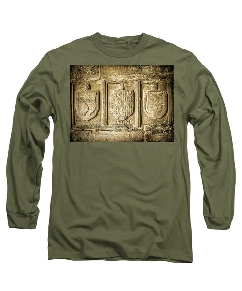 Ancient Carvings Long Sleeve T-Shirt