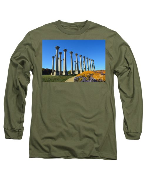 Ancient Corinthian Columns  Long Sleeve T-Shirt