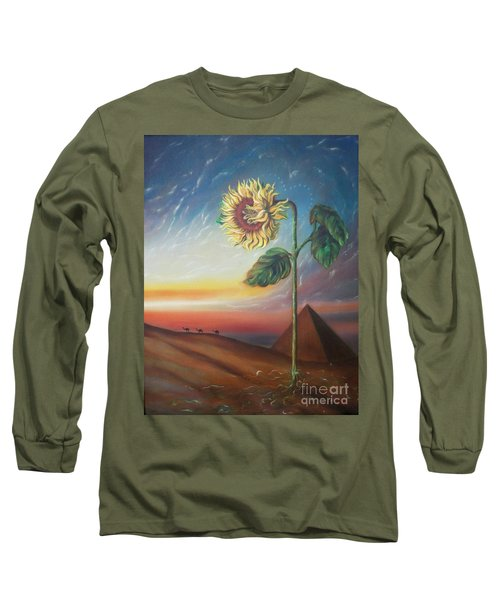 Blaa Kattproduksjoner              Ancient Energy Long Sleeve T-Shirt