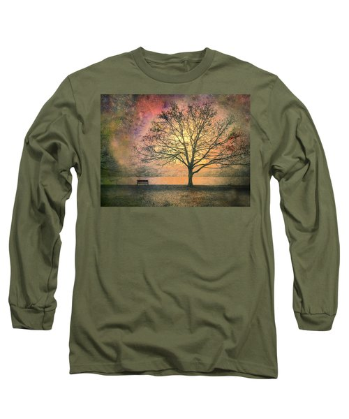 And The Morning Is Perfect In All Her Measured Wrinkles Long Sleeve T-Shirt