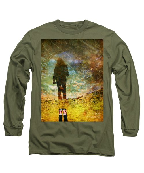 And Then He Turned Her World Upside Down Long Sleeve T-Shirt