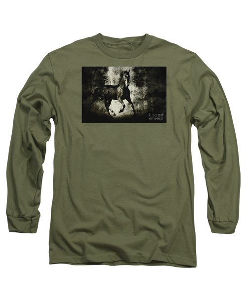 Andalusian Horse Long Sleeve T-Shirt