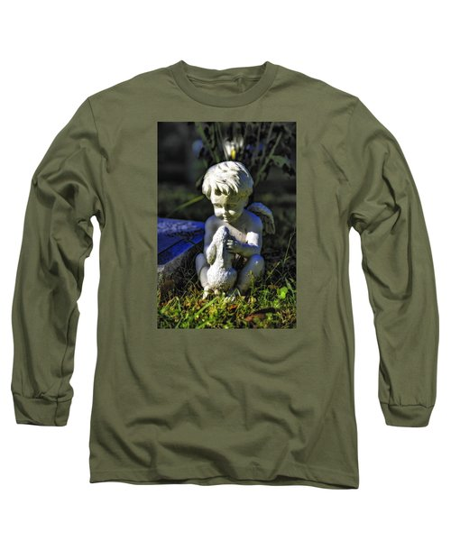 Angel 001 In Hdr Long Sleeve T-Shirt