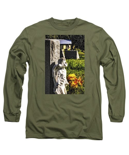 Angel 010 Long Sleeve T-Shirt by Michael White