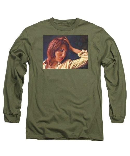 Angel  No. 14... Long Sleeve T-Shirt