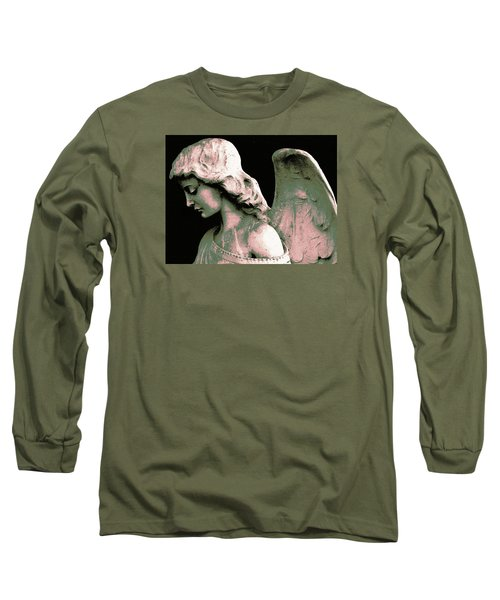 Angel 4 Long Sleeve T-Shirt by Maria Huntley