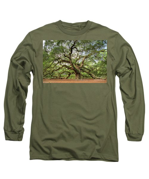 Angel Oak Tree Of Life Long Sleeve T-Shirt