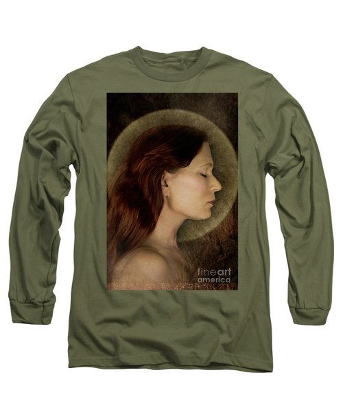 Angelic Portrait Long Sleeve T-Shirt