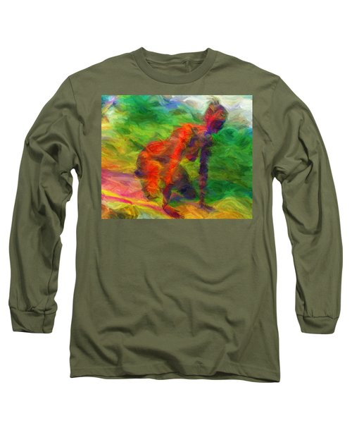 Angelie And The Kneeboard Long Sleeve T-Shirt